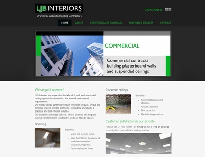 LJB Interiors website